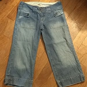 Abercrombie size 14 Bermuda shorts cropped jeans